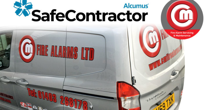 Safe Contractor Approved   C&M Fire Alarms